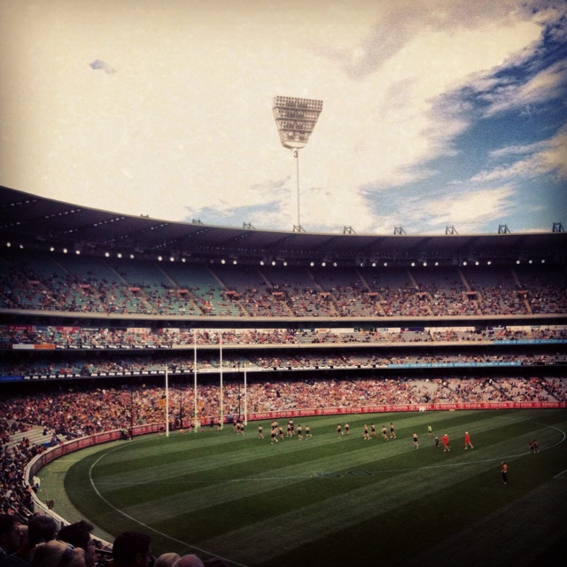 #AFL #MCG #football