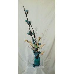''NATURE'' Surprenante Turquoise - Arrangement floral