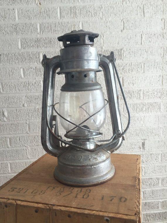 """RESERVED< Railroad Lantern, Kerosene Lamp, 10"""" Oil Lantern, Ever Bright Brand Lamp"""