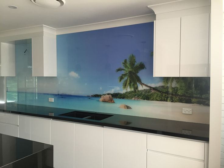 Bring The Beach Indoors This Summer!  Installed by DecoGlaze™ Central Coast