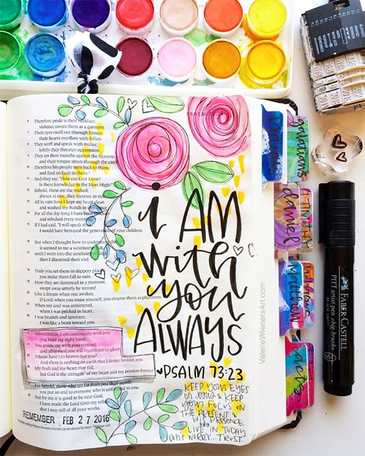 I love letters, I love doodling, and I love Jesus. When I discovered that there was a Journaling Bible nearly 2 years ago, my life was changed. I didn't grow up going to church or reading the Bible so when I became a believer 7 years ago, reading the Bible was hard for me so I just didn't do it. …