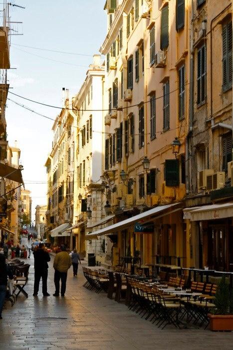Corfu town. Corfu travel guide by corfu2travel.com