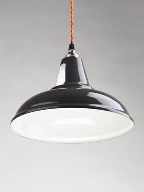 Spun-steel pendants, Industrial pendants, Industrial pendants, Industrial lighting, Holloways of Ludlow