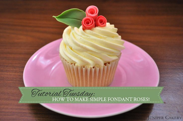 Quick Easy Cake Decorating Tips : How to Make Quick and Simple Fondant Roses! Cupcakes Galore! Pinterest Cake, Cake ...