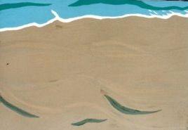 海。三浦海岸だったか…