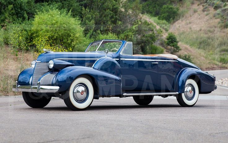 1939 Cadillac Series 75 Convertible Coupe