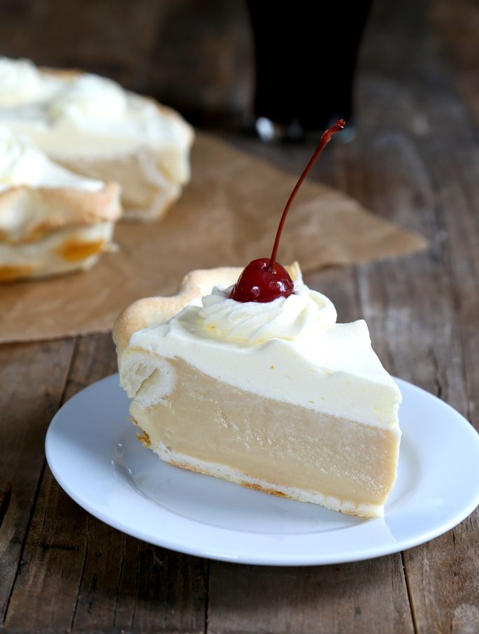 Gluten Free Root Beer Float Pie