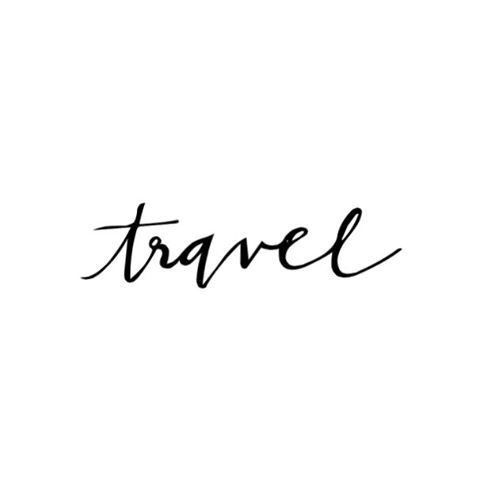 Imagem de travel, quote, and black and white