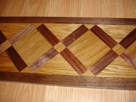 Border Segment, Check Pictures Of Other Inlays, Wood And Stone Medallions,  Borders And Parquet From Czar Floors.