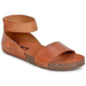 sandaler Art CRETA Mojave-Cognac - Gratis levering med Spartoo.dk ! - Sko Dame 705 Kr