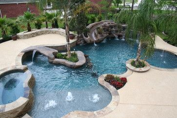 1000 images about pools on pinterest decks waterfalls for Pool design by laly llc
