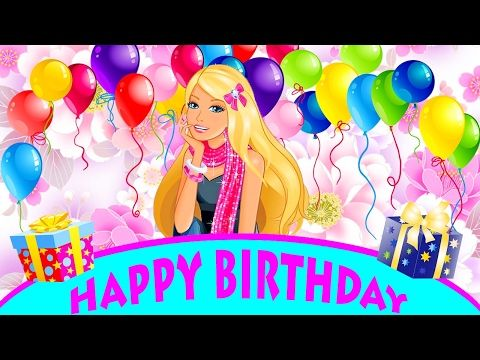 PRINCESSES BARBIE Nursery rhymes and children's songs Happy birthday New collection Cartoons for kid - YouTube