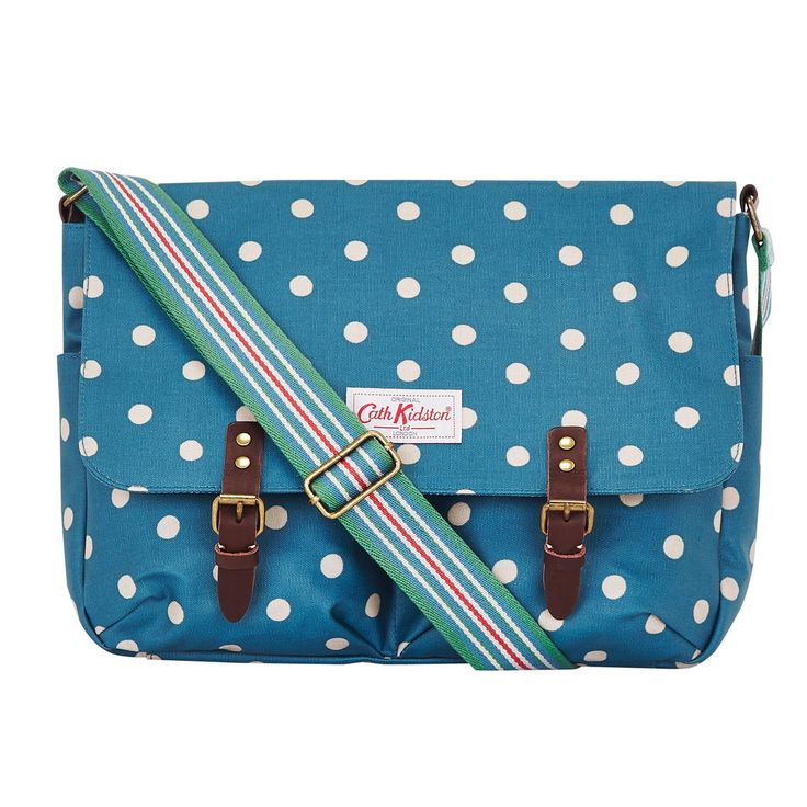 Spot Saddle Bag   for school, college, office or just everyday   CathKidston