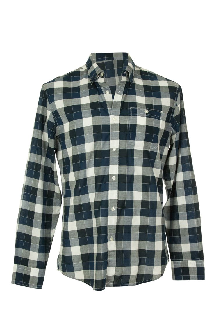 JAG Mens Blanket Check Shirt - Mens Shirts - Birdsnest Online Store