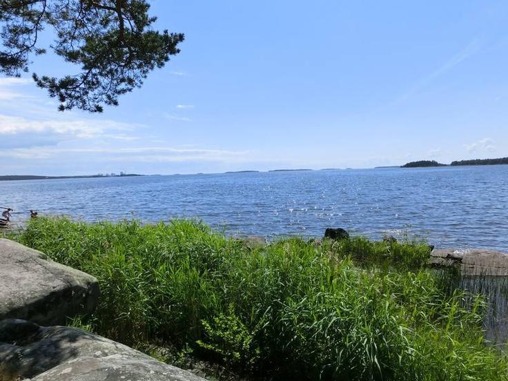 Lake Vanern Sweden, largest lake in Europe