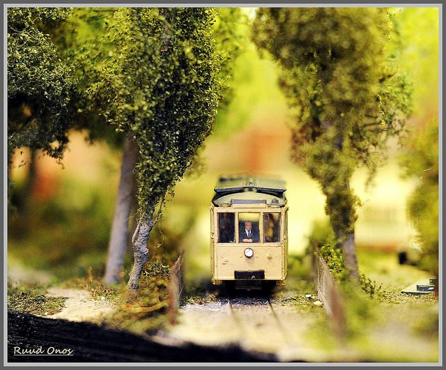 Modelspoor / Railways in miniature | Nederlandse Modelspoordagen 2014, Rijswijk. | Photo CC BY-NC-SA 2.0: Ruud Onos.