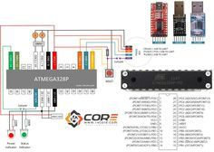 Wiring a Stand Alone ATMEGA328P CMOS 8Bit Microcontroller   14Core.com