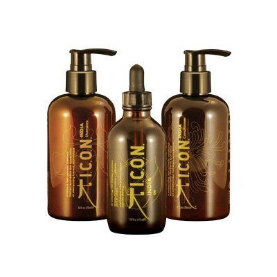 ICON India Care Trio (Shampoo 8oz, Conditioner 8oz & India Oil 3.38oz) by ICON. $38.44. Protects hair from damage. Soothes frayed hair. Anti-Aging. Moringa & Argan Oil infused moisture delivery system. Luxurious, creamy lather. India from I.C.O.N. captures the essence of health and tranquility inside a product line that incorporates ancient practices with the restorative oils of Moringa and Argan. The women of India use these oils to heal. I.C.O.N. uses them for hair-yur...