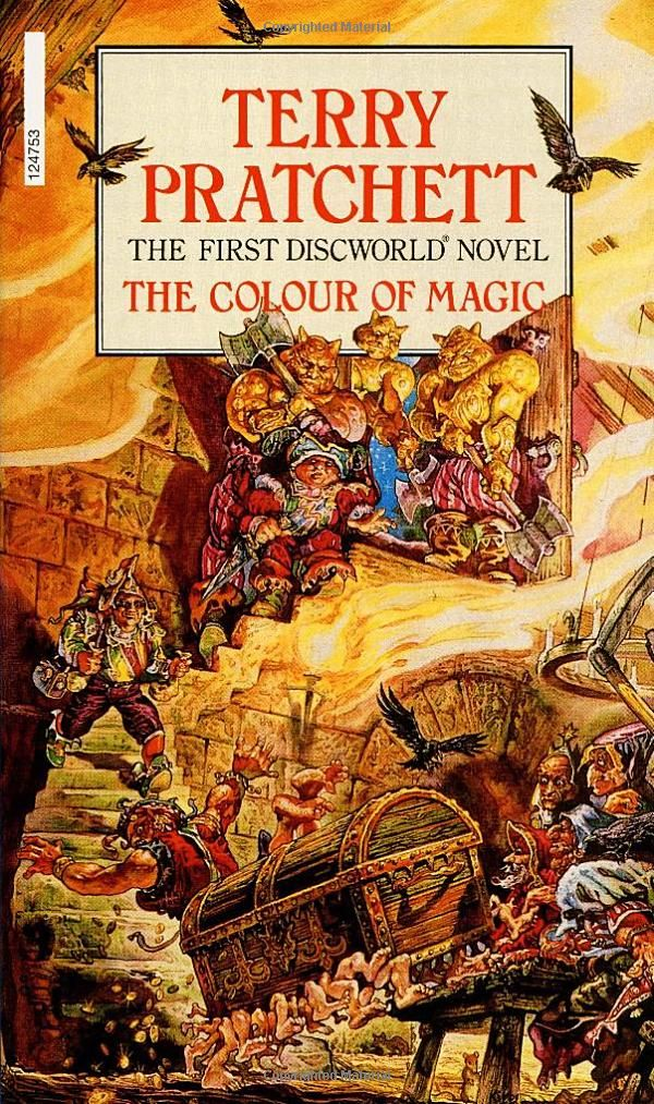 The Colour of Magic: The First Discworld Novel by Terry Pratchett: Books, UK cover