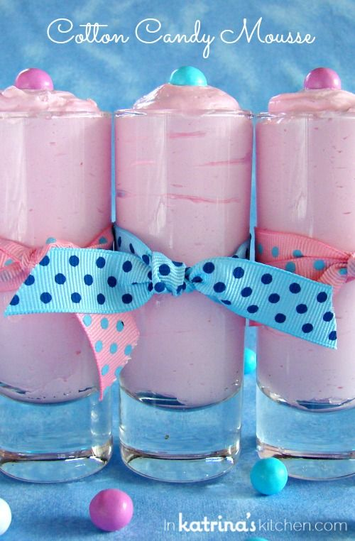 Cotton Candy Mousse - In Katrina's Kitchen