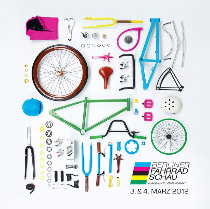 Things Organized Neatly: Poster for Berliner Fahrrad Schau