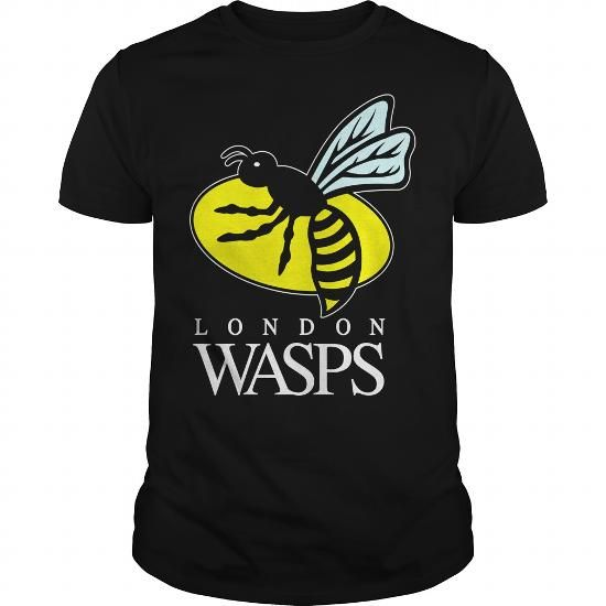 Awesome Tee London Wasps Rugby Sports T-Shirt Shirts & Tees