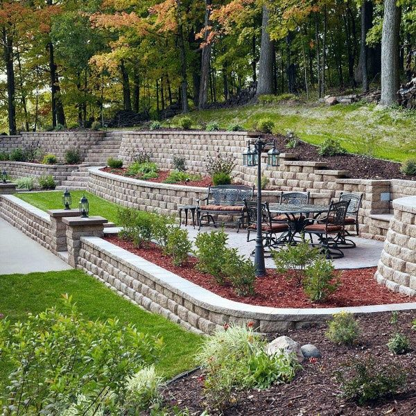 Top 60 Best Retaining Wall Ideas Landscaping Designs Landscaping Retaining Walls Backyard Retaining Walls Backyard Landscaping Designs