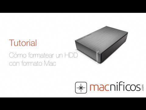 ▶ Cómo formatear un disco duro en Mac - YouTube