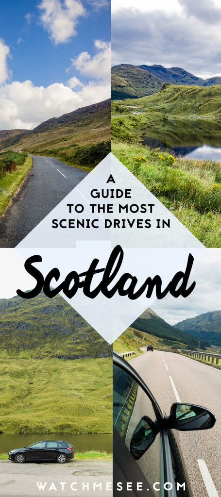 With the gorgeous highlands and towns, Scotland is one of the most scenic countries to travel through by car! Here are the top scenic drives and how to navigate them. #scotland #highlands