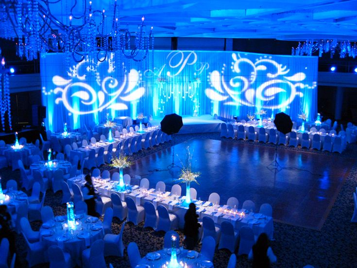 diy wedding reception lighting. Gorgeous Wedding Backdrops Lighting Projected Just Wow Diy Reception N