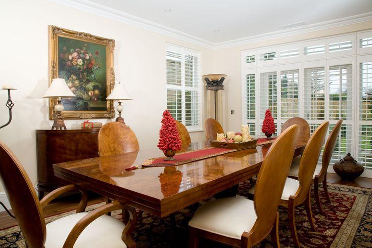 Dining room #WindowShutters