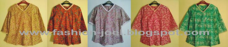 Batik Blouse Series