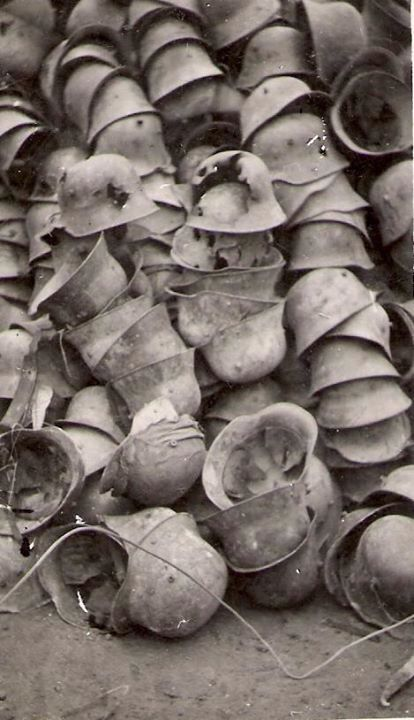 German helmets World War I