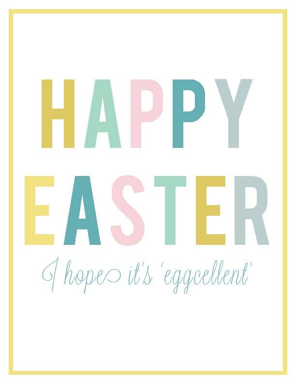 Check out these fun Easter printables free to download and use from Visual Eye Candy!