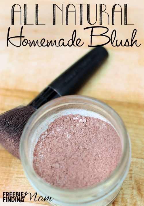 DIY Makeup Recipes 2017 / 2018 : All Natural Homemade Blush  Do you know how easy it is to make your own makeup?