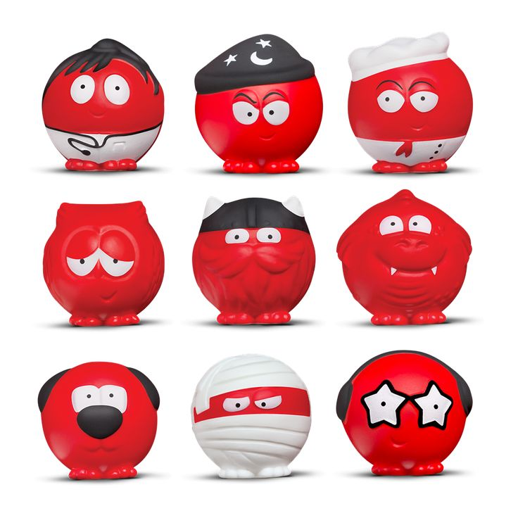 This Red Nose Day, we've got ten new Red Noses for you to collect in special surprise bags. Well, nine red ones and an Ultra Rare silver one!
