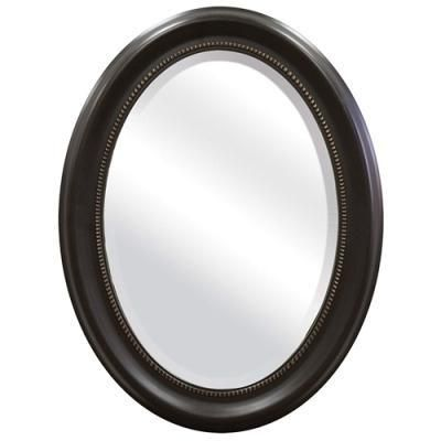 Buy Round Oval Bathroom Wall Mirror With Beveled Edge Bronze Frame Free Shipping At OliveTree Home For Only 11995