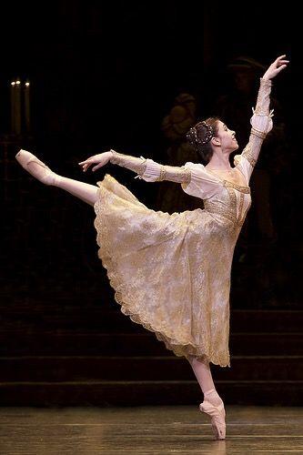 "Principal ballerina Yasmine Naghdi, The Royal Ballet as Juliet in ""Romeo&Juliet"""