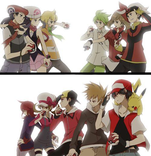 Pokemon adventures/special characters