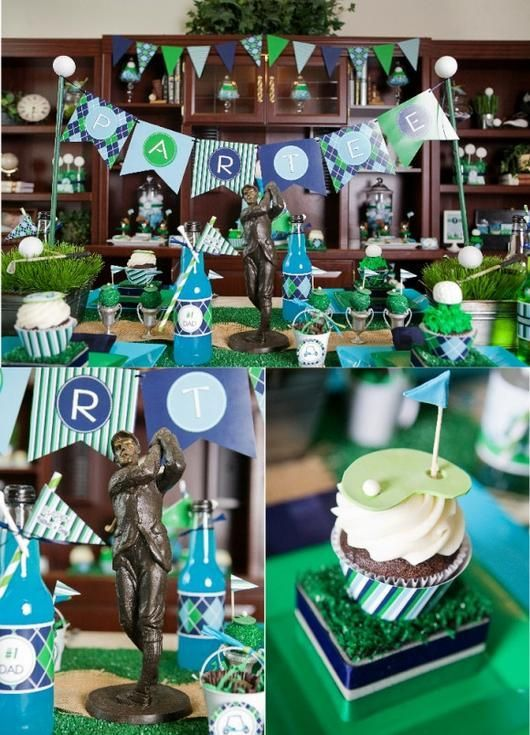 Golf Birthday Party Printables Supplies & Decorations | BirdsParty.com