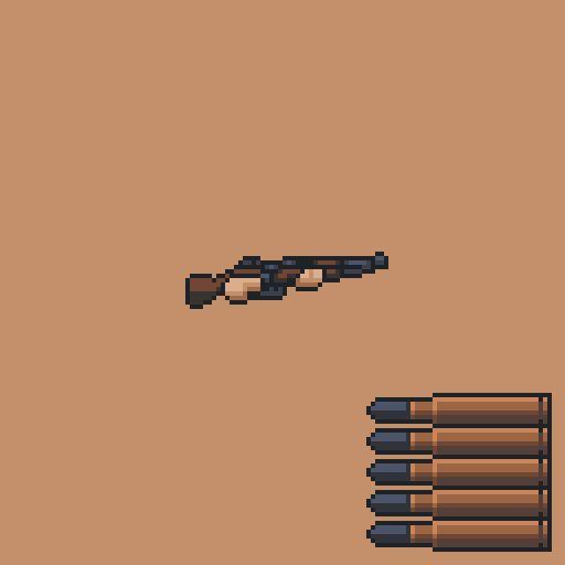 [OC] Bolt Action Rifle #перезарядка #оружием #пиксельарт