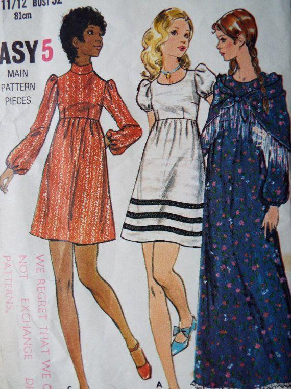 The 105 best vintage dress patterns images on Pinterest   Vintage ...