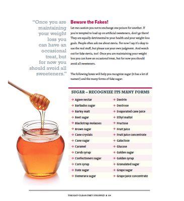 Tosca Reno's Sugar Aliases  Replacements