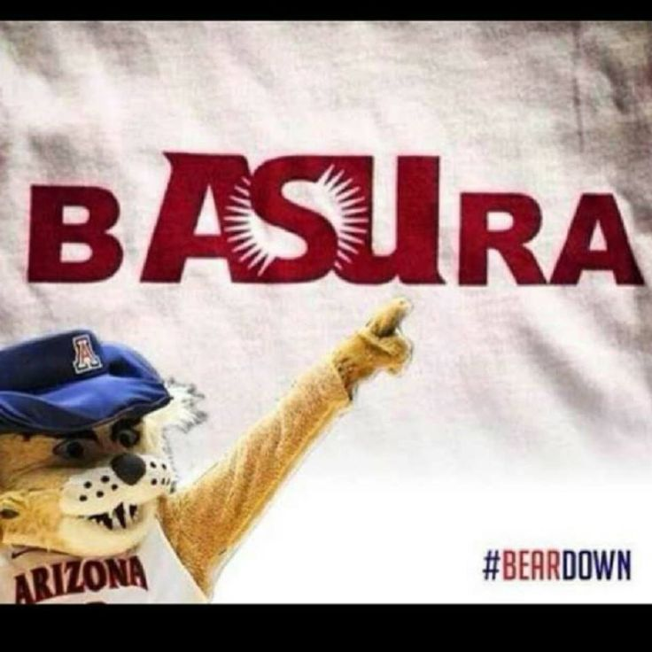 Basura =Trash Lol Go Wildcats!