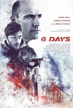 Jamie Bell, Abbie Cornish, Mark Strong, and Emun Elliott in 6 Days (2017)