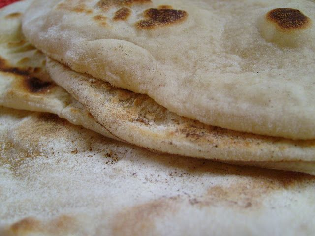 Hugh Fearnley-Whittingstall's Flatbread Recipe - Yummy and much better than Stephen's!