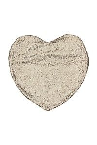 SEQUIN HEART SCATTER CUSHION
