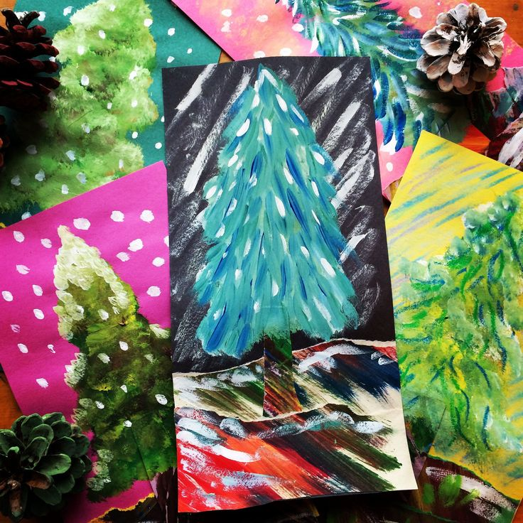 I do love the change of the seasons! Winter is a beautiful time of year and to celebrate, my students created these delightful alpine trees. This short video shows the supplies needed and directio…