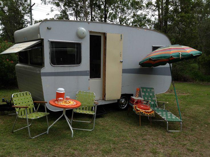 Vintage Scenic Caravan, Australian | Vintage caravans ...
