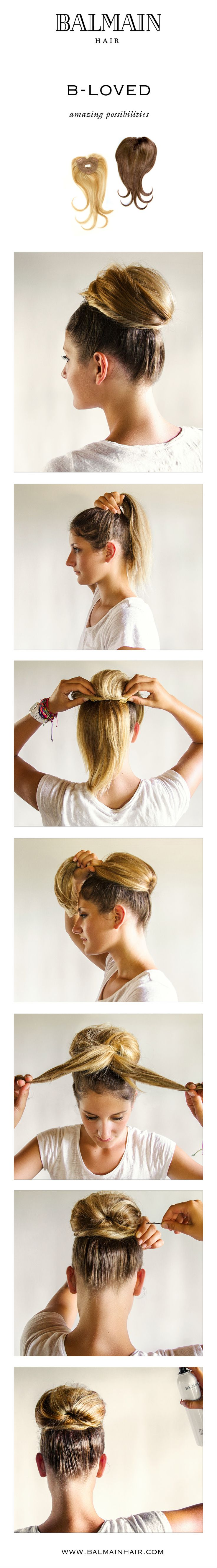 The possibilities of the B-loved are endless. Donut Bun Step-by-Step.